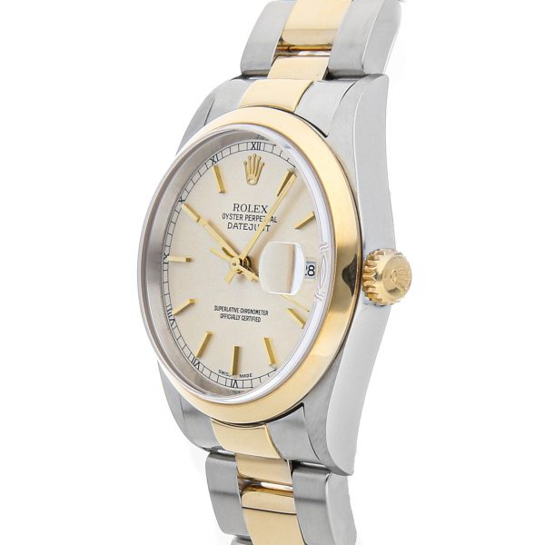 Silver Men Replica Rolex Datejust 16203 Stainless Steel Casual