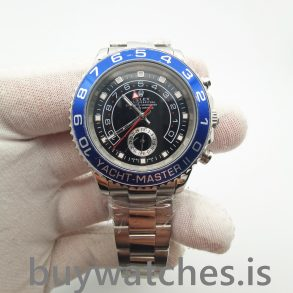 Rolex Yacht-Master 116680 Автоматические мужские часы 44 мм из черной стали