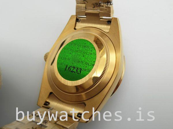 Rolex Day-Date 128348rbr Золотые автоматические часы унисекс, 36 мм