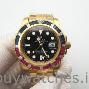 Rolex GMT-Master II 116748 Автоматические часы унисекс 40 мм из желтого золота