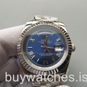 Rolex Day-Date 228239 Мужские 40-миллиметровые синие автоматические часы