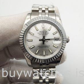Rolex Datejust 68274 Женские 31 мм стальные серебряные автоматические часы