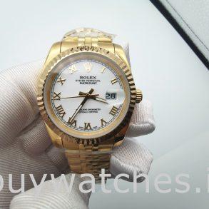 Rolex Datejust 126333 Мужские 41 мм стальные белые автоматические часы