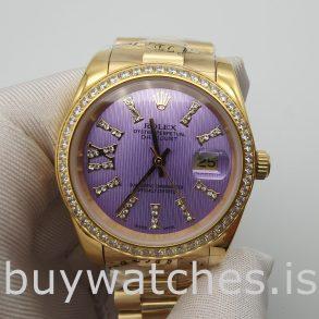 Rolex Datejust 278384 Женские 31 мм автоматические фиолетовые часы