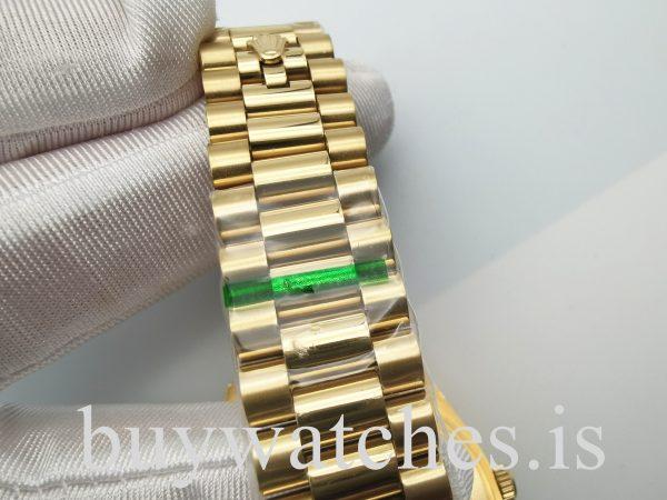 Rolex Day-Date 228238З олотые 40 мм автоматические часы унисекс