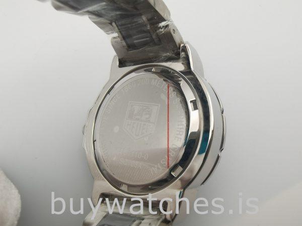 Tag Heuer Formula 1 WAH1219.BA0859 Круглые 35-миллиметровые кварцевые черные часы