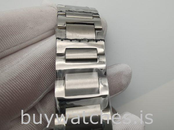 Cartier Ballon Bleu W6920002 Серебряные мужские часы с автоподзаводом 47 мм