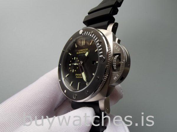 Panerai Luminor Submersible Pam00389 Мужские черные автоматические часы 47 мм