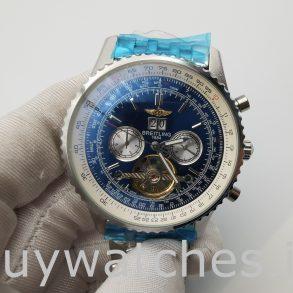Breitling Navitimer A24322 Мужские часы с синим циферблатом 46 мм
