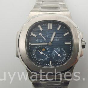 Patek Philippe Nautilus 5712/1A-001 Часы унисекс с синим циферблатом