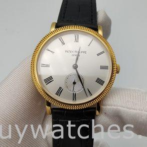 Patek Philippe Calatrava 5119J-001 Мужские часы с белым циферблатом 36 мм