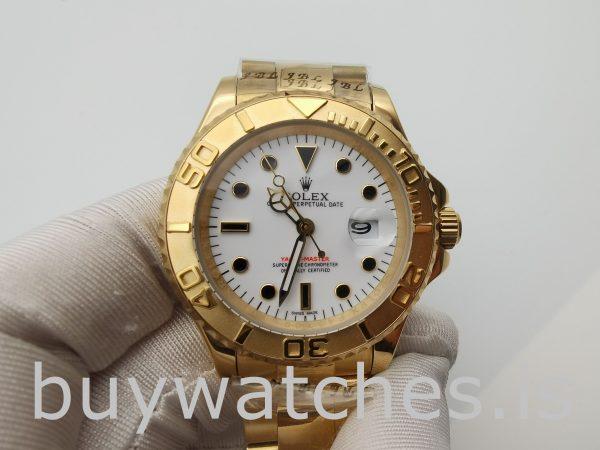 Rolex Yacht-Master 16628 Мужские часы 40 мм из желтого золота 18 карат