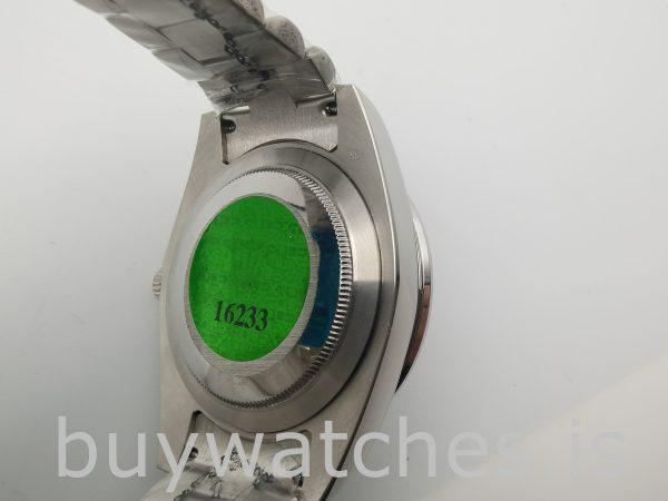 Rolex Day-Date 228349RBR Мужские часы с серебряным циферблатом 40 мм