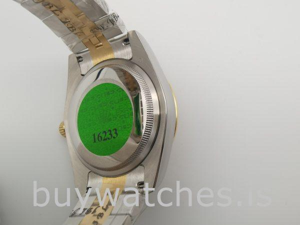 Rolex Datejust 126283RBR Женские часы с шампанским 36 мм