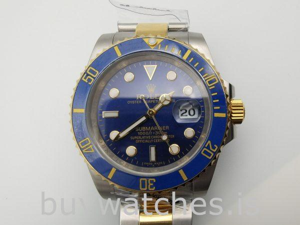 Rolex Submariner 116613LB Круглые золотые часы из нержавеющей стали 40 мм