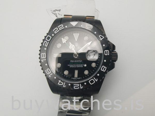 Rolex GMT Master II 116710 Черные мужские стальные часы 40 мм