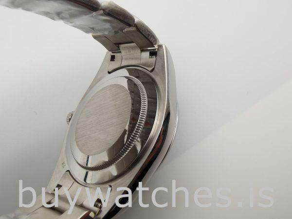 Rolex Datejust 116300 Мужские 41 мм стальные часы с белым циферблатом