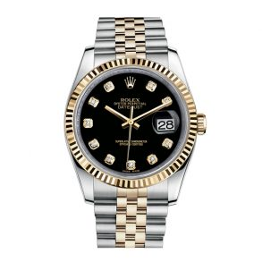 Rolex Datejust 116233 Часы унисекс 36 мм из желтого золота 18 карат