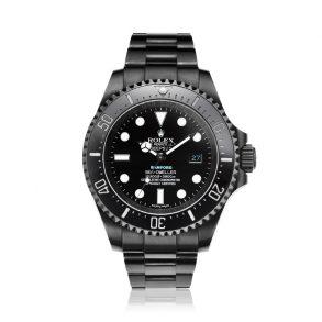Rolex Deepsea 116660 Часы 44 мм из нержавеющей стали черного цвета