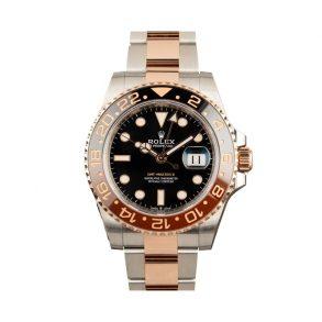 Rolex GMT-Master 126711 Мужские часы с черным циферблатом 40 мм