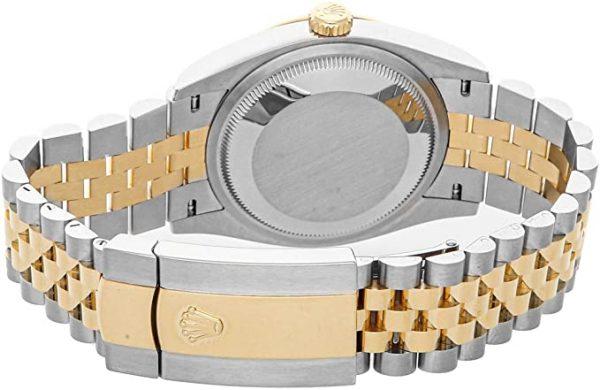 Rolex Datejust 126233 Мужские часы 36 мм с бежевым циферблатом