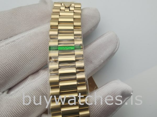 Rolex Day-Date 228238 Часы из желтого золота с сапфировым стеклом 40 мм