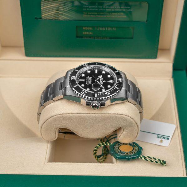 Rolex Submariner 126610 Часы унисекс с черным циферблатом, сталь 41 мм