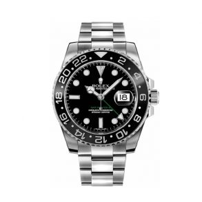 Rolex GMT-Master II 116710LN Мужские черные часы 40 мм