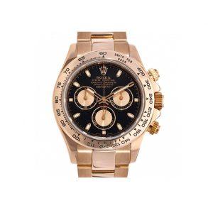Rolex Daytona 116505 Мужские круглые часы из розового золота 40 мм