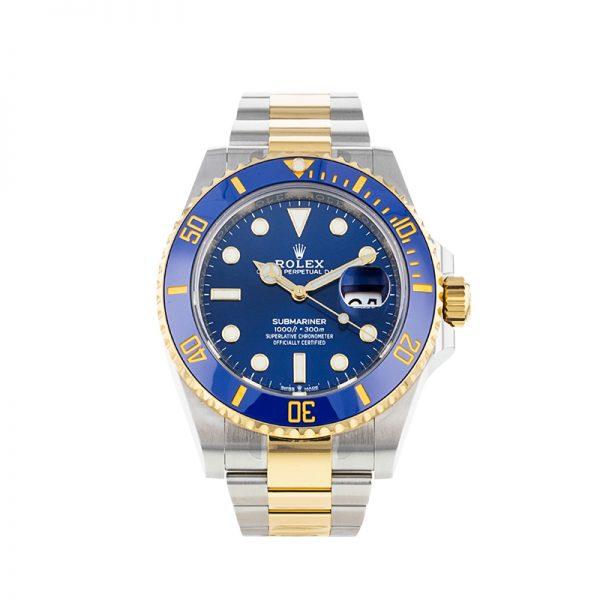 Rolex Submariner 126613 Мужские часы с синим циферблатом 41 мм