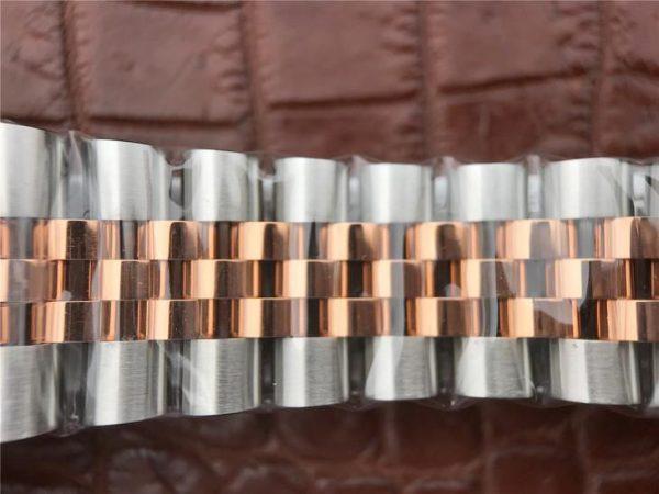 Rolex Datejust 116231 Replica Женские часы из розового золота 36 мм