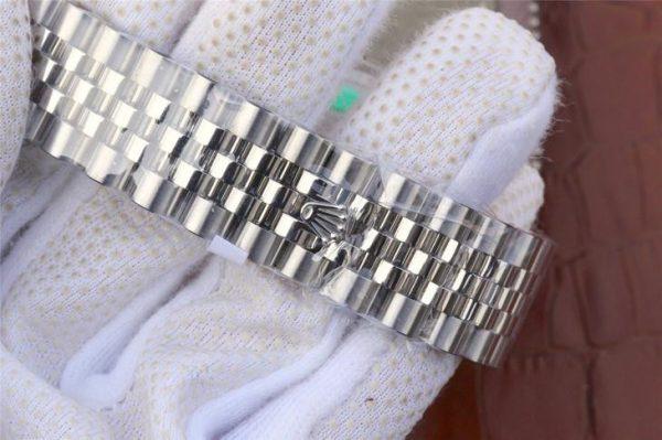 Rolex Datejust 116234 Replica Часы Lady Silver с синим циферблатом 36 мм